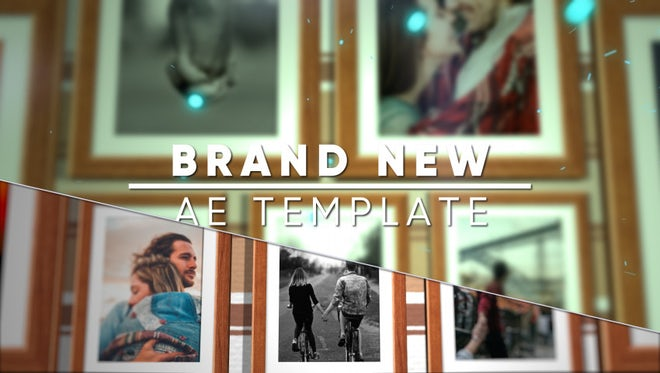 Frame Slideshow: After Effects Templates