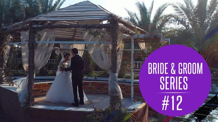Bride And Groom Dancing: Stock Video