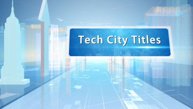 Tech City Corporate Titles: After Effects Templates
