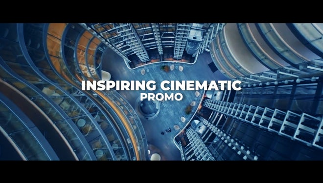 Inspiring Cinematic Promo: Premiere Pro Templates