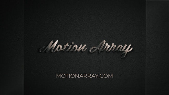 Elegant Glass And Metal Logo: After Effects Templates