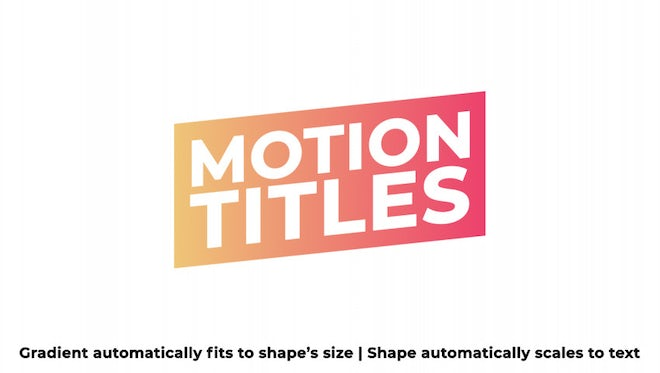 Auto Resizing Titles: After Effects Templates