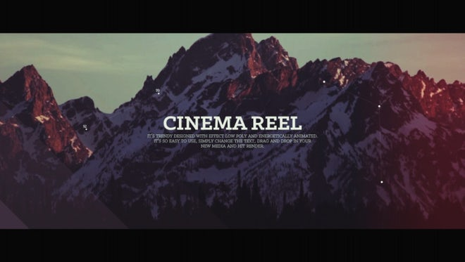 Graceful Cinema Reel : Premiere Pro Templates