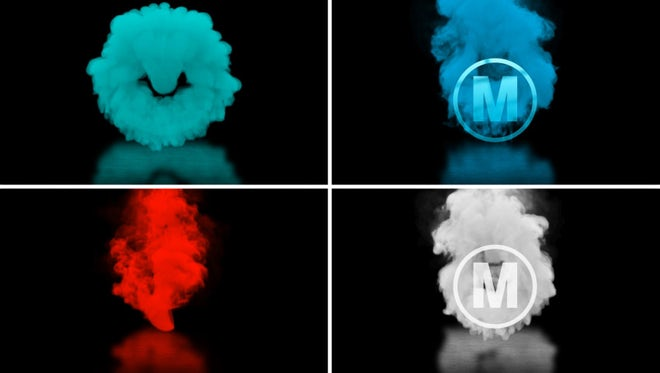 Smokey Logo Reveal: After Effects Templates