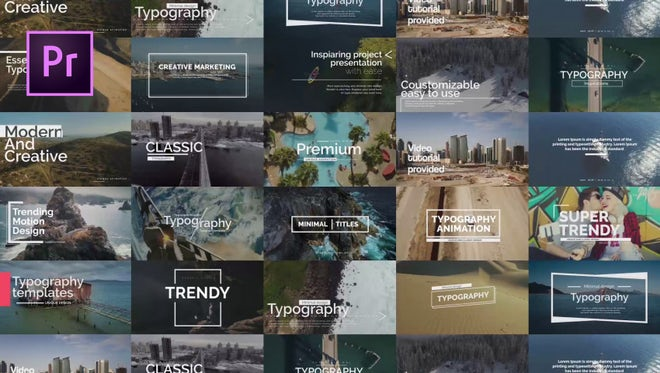 Essential Titles V.1: Motion Graphics Templates