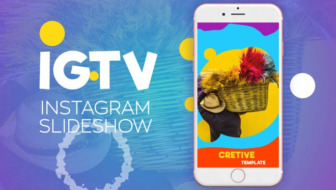 Igtv/Instagram Slideshow: After Effects Templates