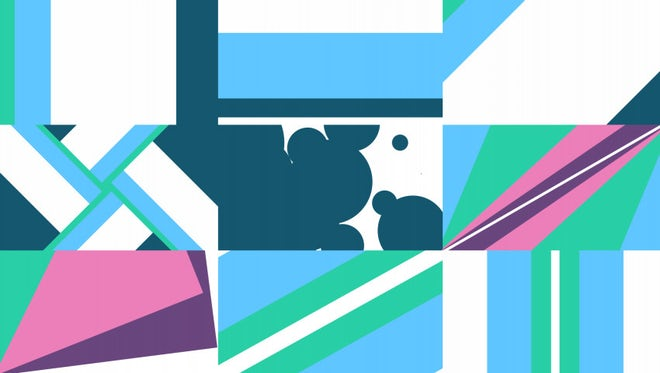 Colorful Geometric Transition Pack: Stock Motion Graphics