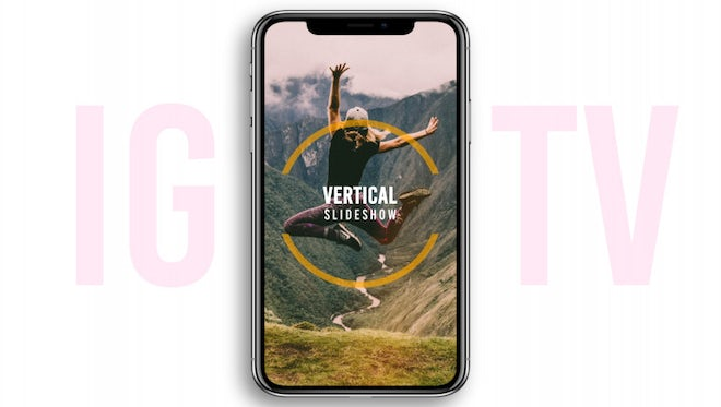 Vertical Slideshow: After Effects Templates