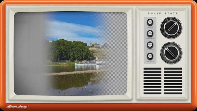 Vintage Television Overlay Collection: Stock Motion Graphics