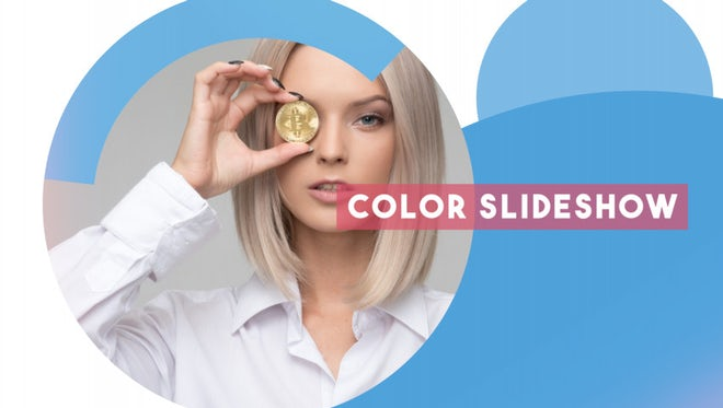 Color Slideshow: After Effects Templates