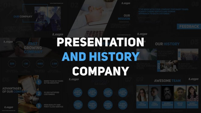 Corporate Presentation: Premiere Pro Templates