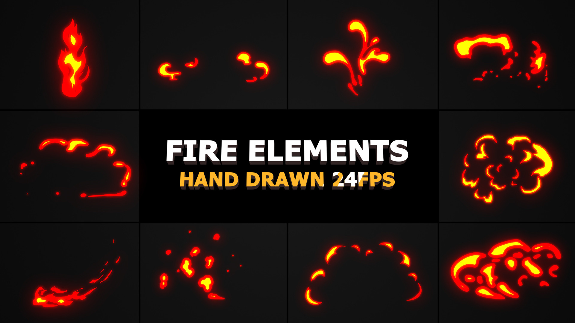 Fire FX Elements Pack - Stock Motion Graphics | Motion Array