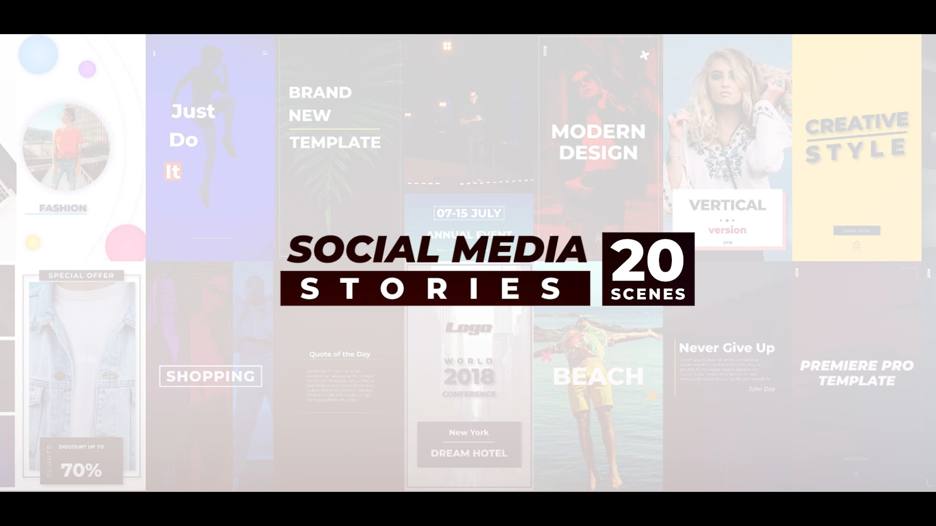 Social Media Stories - Premiere Pro Templates 97695