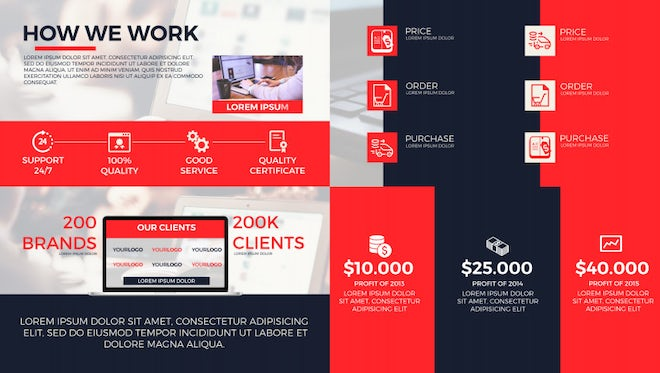 Corporate Business Presentation: After Effects Templates