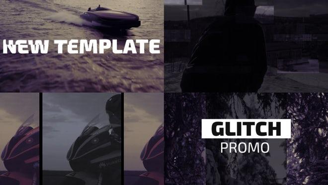 Aggressive Glitch Promo: Premiere Pro Templates