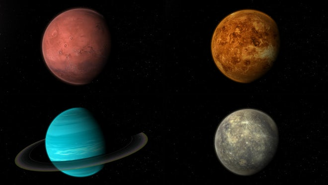 Solar System Planets Pack: Stock Motion Graphics