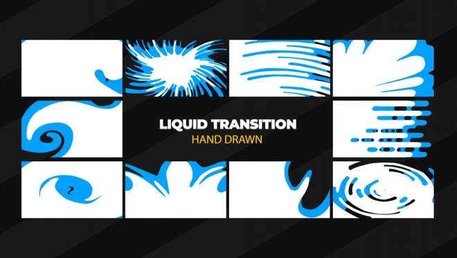 Liquid Transition: After Effects Templates