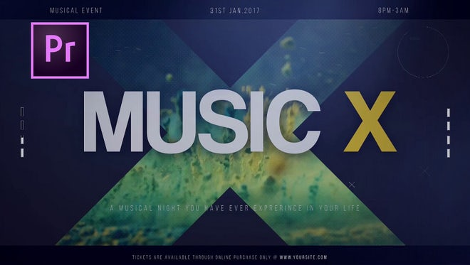 Music X: Premiere Pro Templates