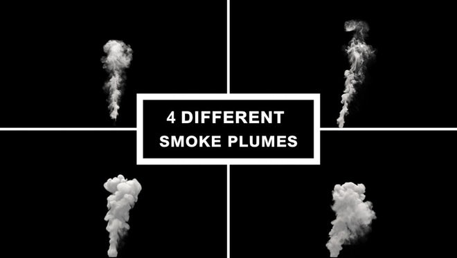Smoke Plume Pack: Stock Motion Graphics