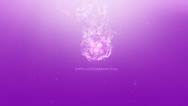 Water Logo: Premiere Pro Templates