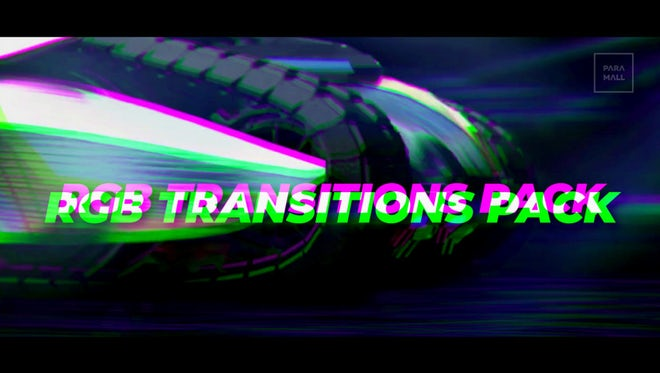 Fast RGB Transition Pack: Premiere Pro Templates