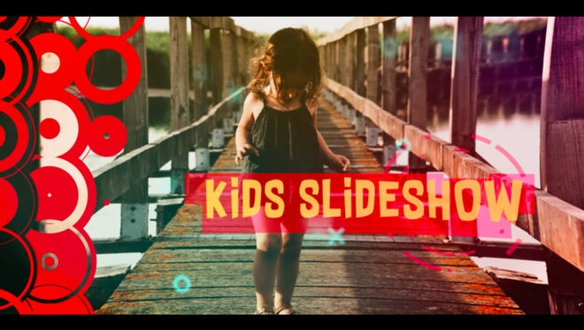 Kids Slideshow: After Effects Templates