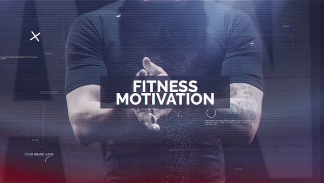 Fitness Motivation: After Effects Templates