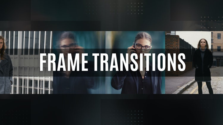 Frame Transitions: Premiere Pro Templates